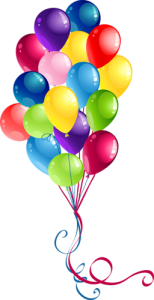balon anniversaire